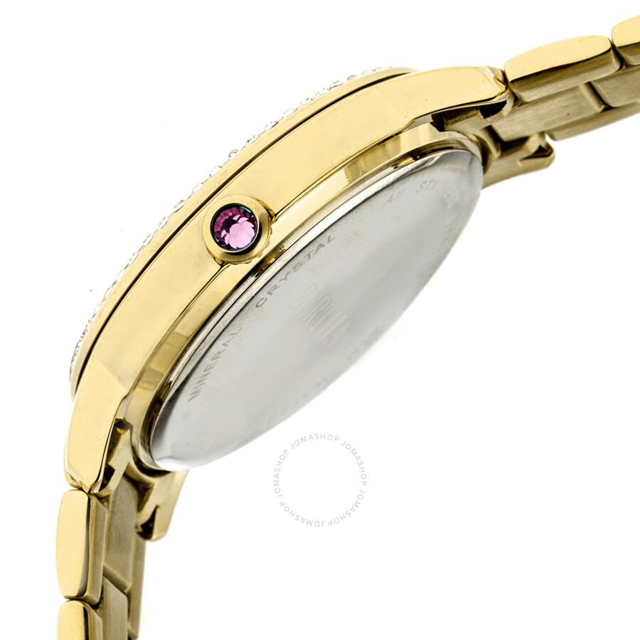 Crystal Of Madeline Mother Watch Bertha Ladies Br7102 Pearl Tul3KJ1cF