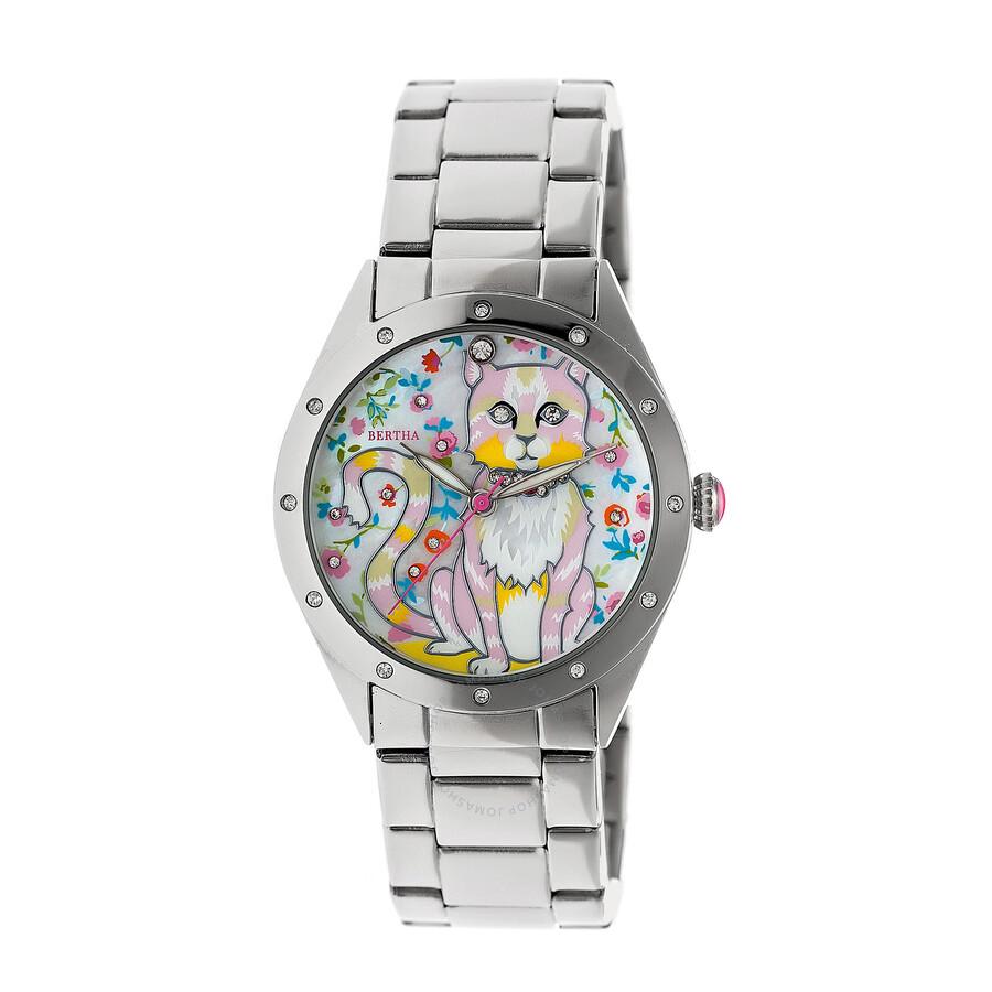 Bertha selina crystal ladies watch br6101 bertha watches jomashop for Crystal ladies watch