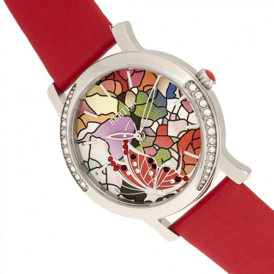 Bertha vanessa crystal ladies watch br8702 bertha watches jomashop for Crystal ladies watch