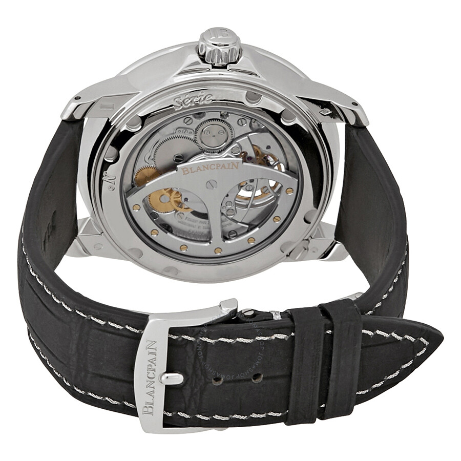 ... Blancpain Le Brassus Platinum One Minute Flying Carrousel Men's Watch  2253-4034-53B