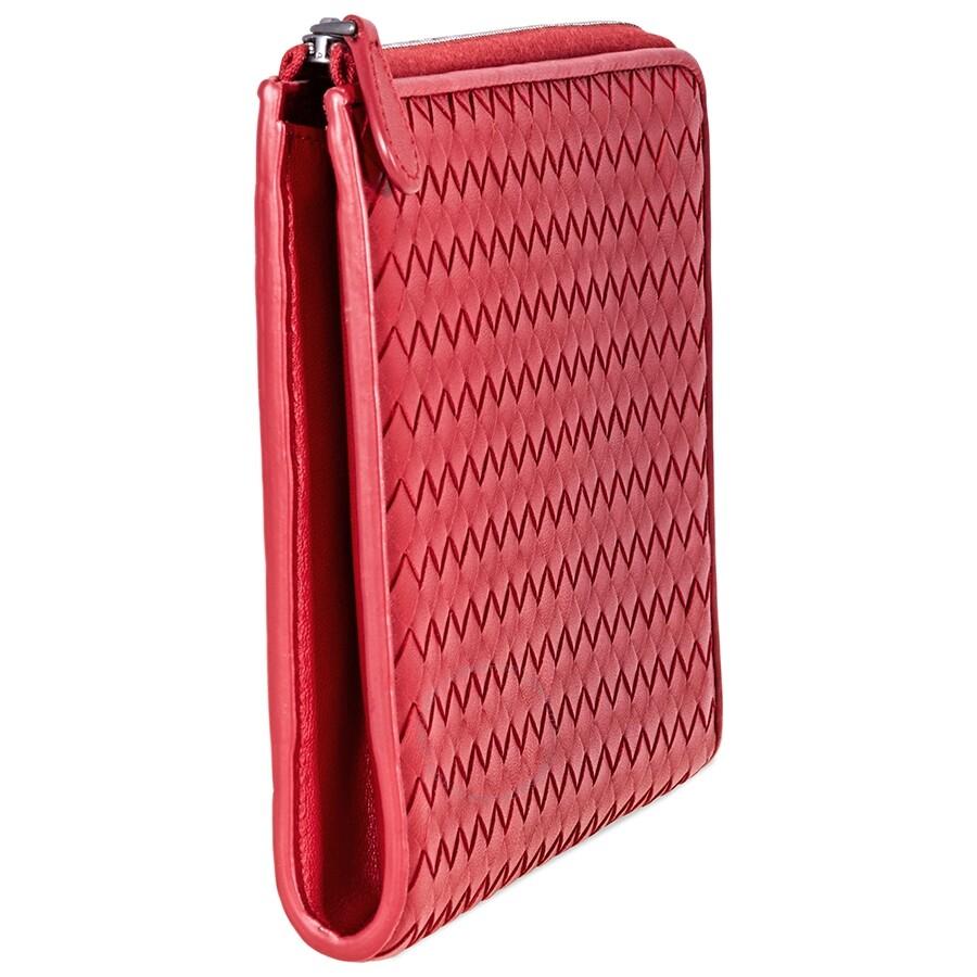 Bottega Veneta Document Bag- Red - Bottega Veneta - Handbags - Jomashop e2e39012422e1