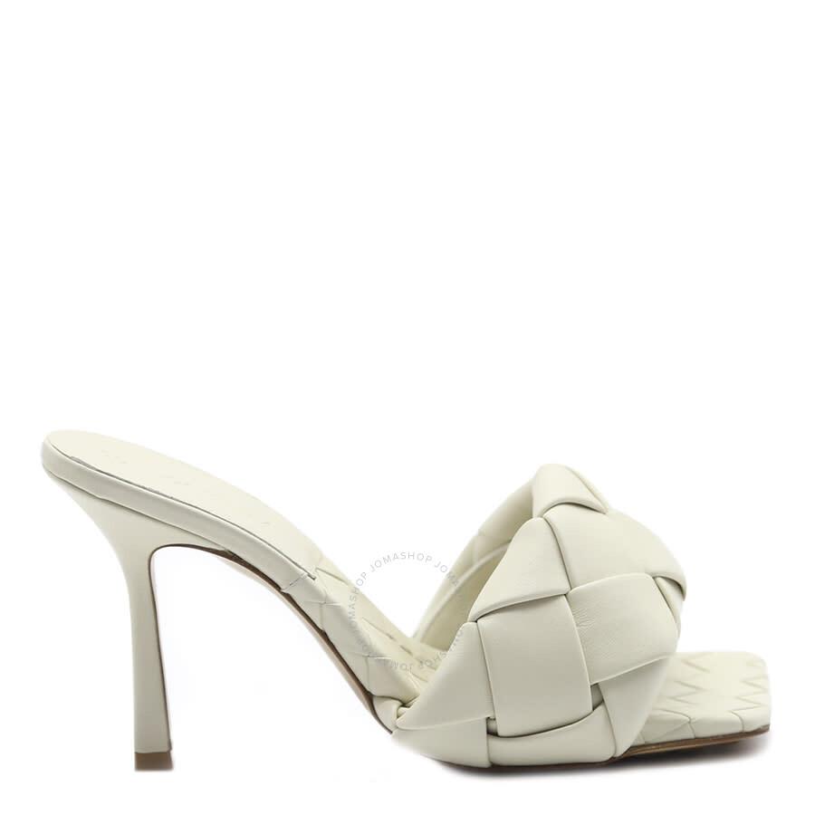 Bottega Veneta Ladies White Sandals