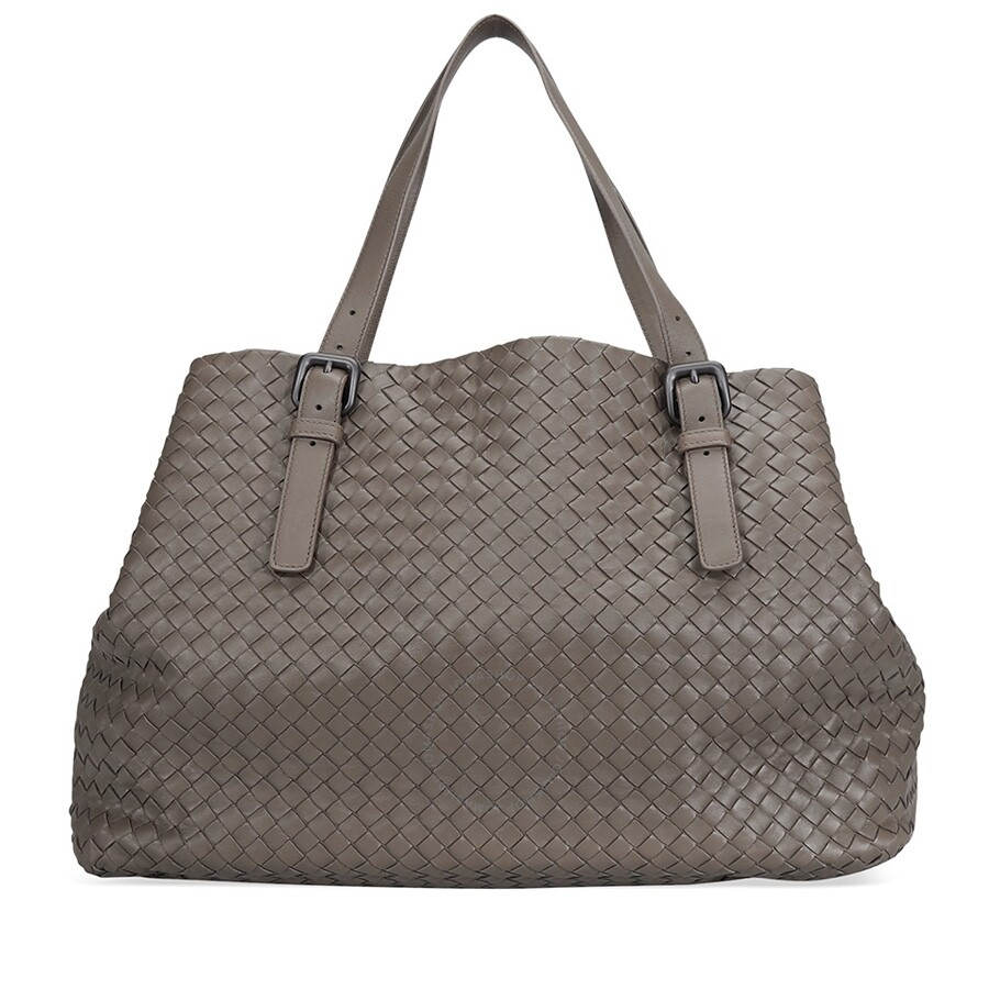d48ecf393f Bottega Veneta Large Tote Bag- Steel - Bottega Veneta - Handbags ...