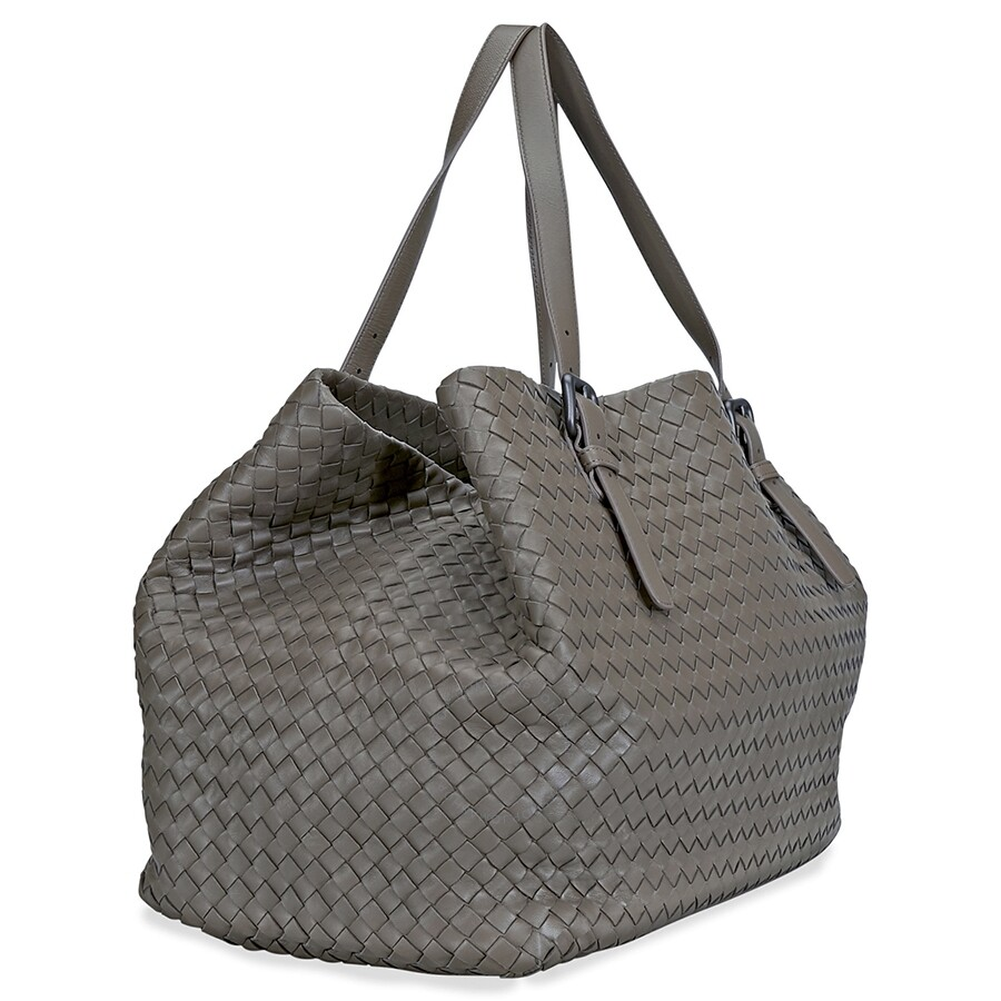 83735e4457 Bottega Veneta Large Tote Bag- Steel - New Arrivals - Pre-owned ...