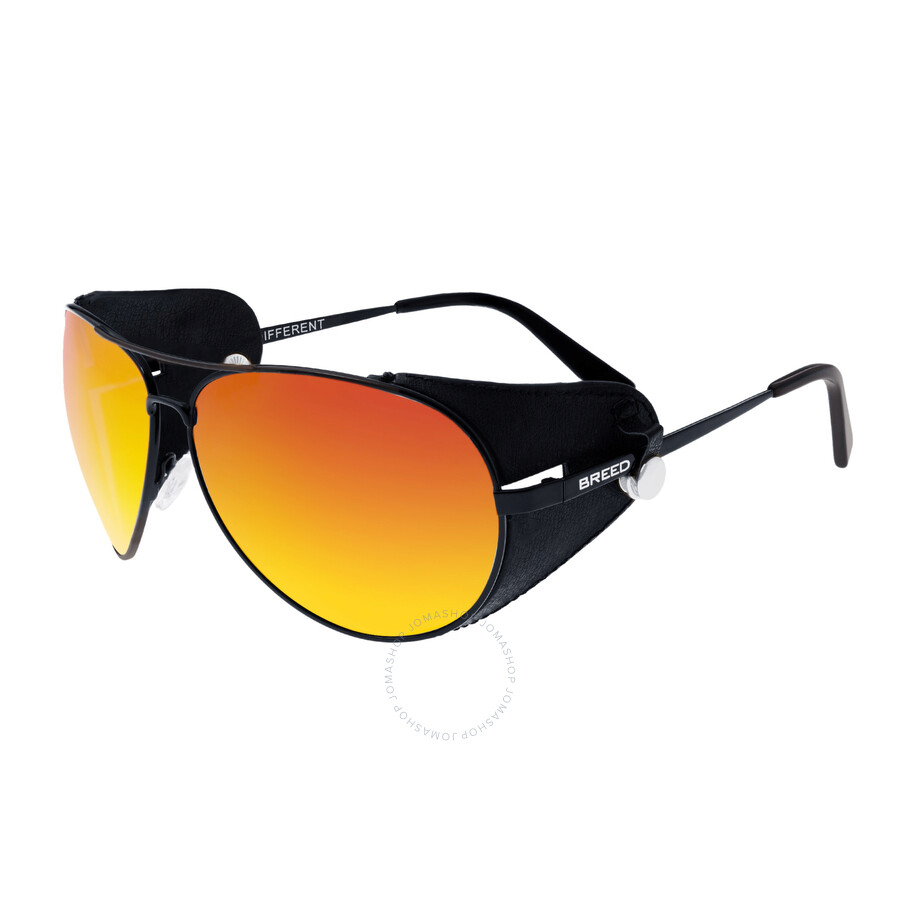 1d7a3fd4cee8a Breed Eclipse Red-Yellow Men s Aviator Sunglasses 048BK - Breed ...