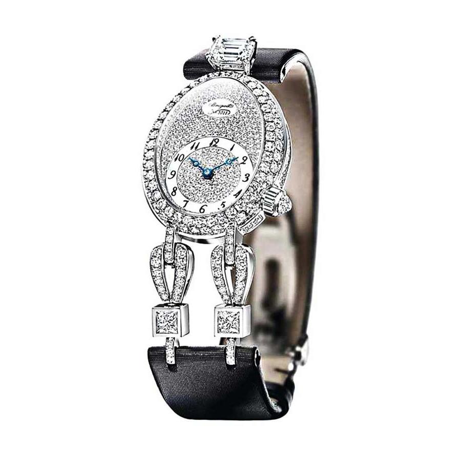 High Jewelry Automatic Diamond White Dial Ladies Watch GJE23BB20.8924D