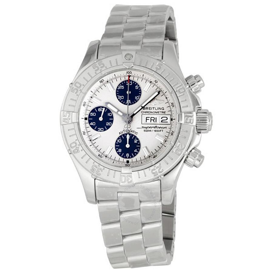0ce958add40 Breitling Aeromarine Chrono Superocean Steel Men s Watch A1334011-G549SS  Item No. A1334011 G549