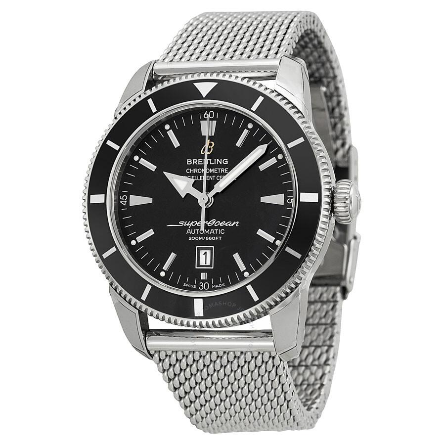 Breitling aeromarine superocean heritage men 39 s watch a1732024 b868ss superocean heritage 46 for Watches breitling
