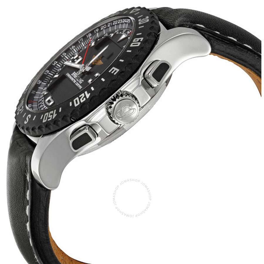 Breitling Airwolf Raven Volcano Black Dial Men's Watch A7836423-B911BKLT