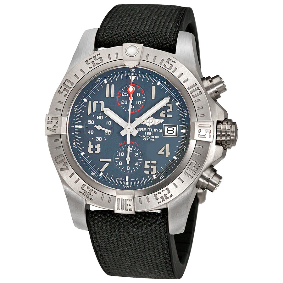 Breitling avenger bandit chronograph automatic men 39 s watch e1338310 m534 253s avenger for Avengers watches