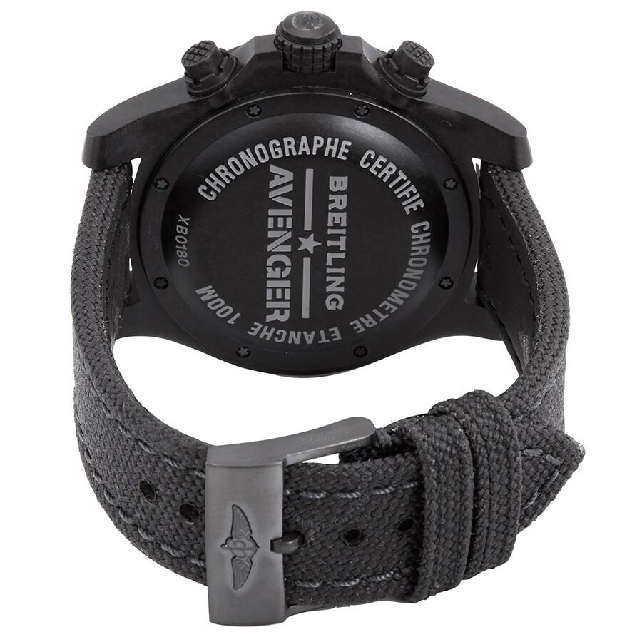 4c6567f9ca3 Breitling Avenger Hurricane Cobra Yellow Dial Automatic Men's Chronograph  Watch XB0180E4-I534-109W.