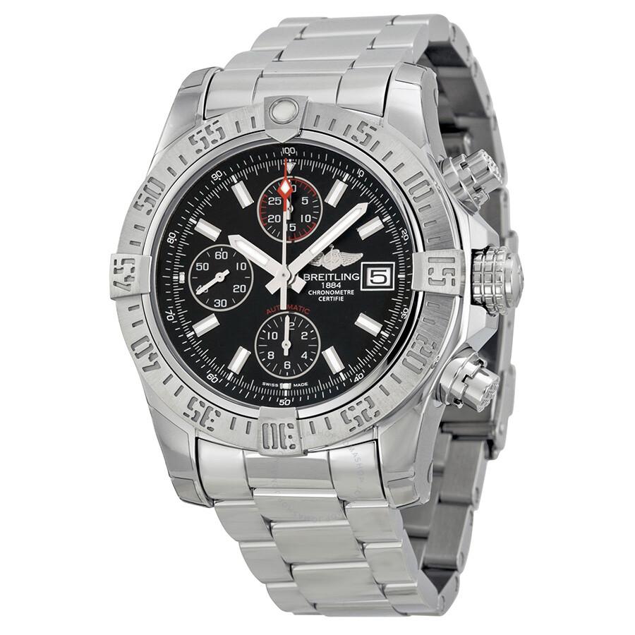 Breitling avenger ii chronograph automatic men 39 s watch a1338111 bc32ss avenger ii avenger for Avenger watches