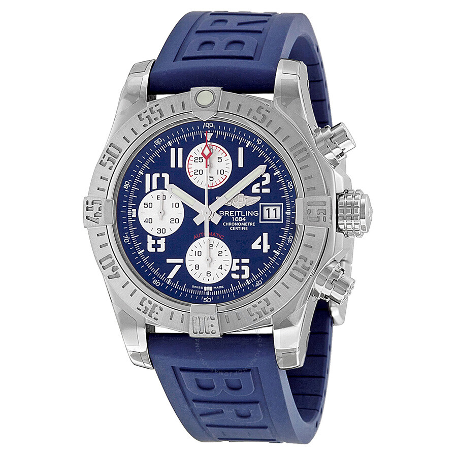 Breitling avenger ii chronograph automatic men 39 s watch a1338111 c870blpd3 avenger ii avenger for Avengers watches