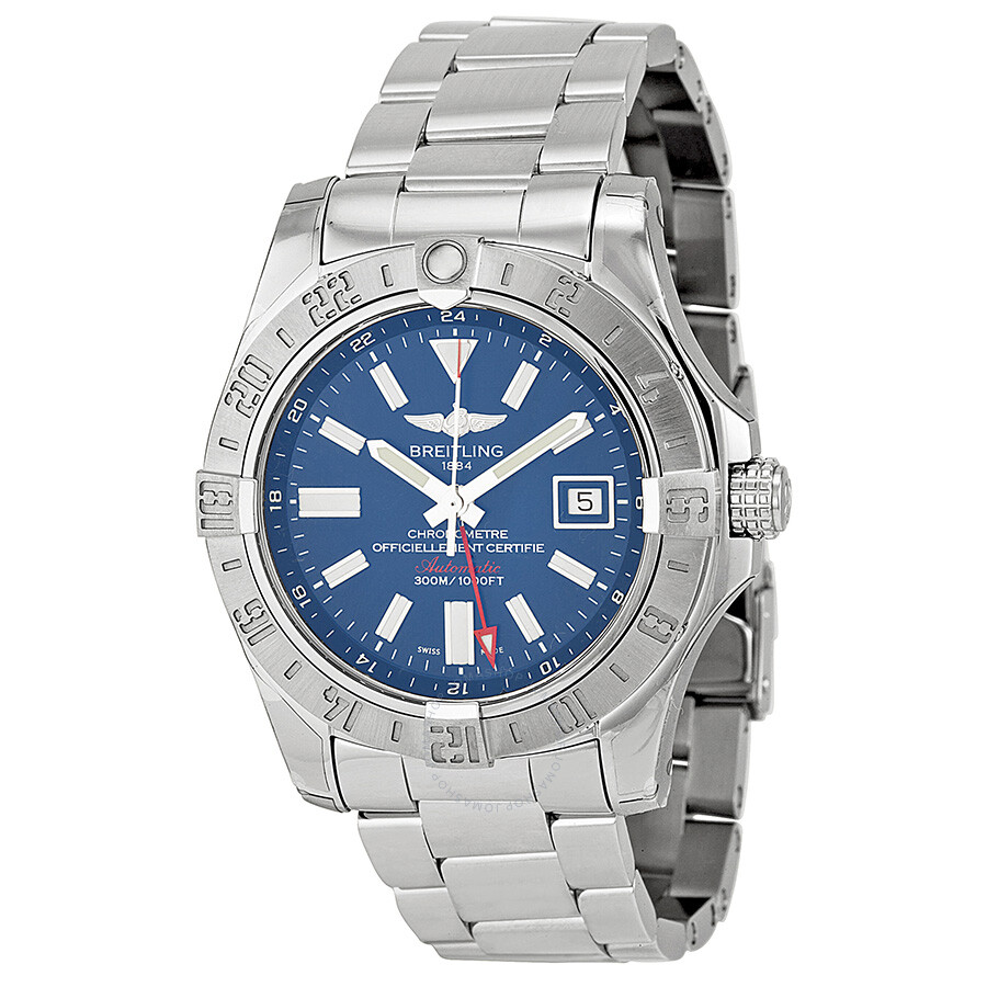 new style 68f8e a72cf Breitling Avenger II GMT Automatic Men's Watch A3239011-C872SS