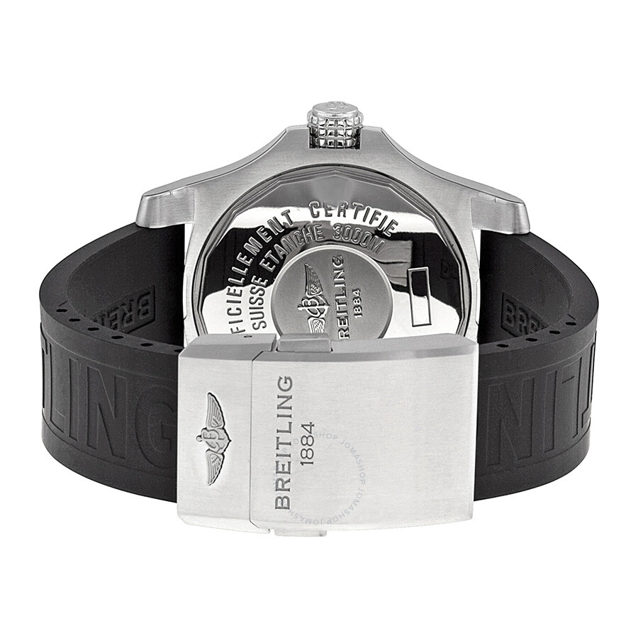 Breitling Avenger Ii Seawolf Black Dial Black Rubber Automatic Men S Watch A1733110 Bc30bkpd3
