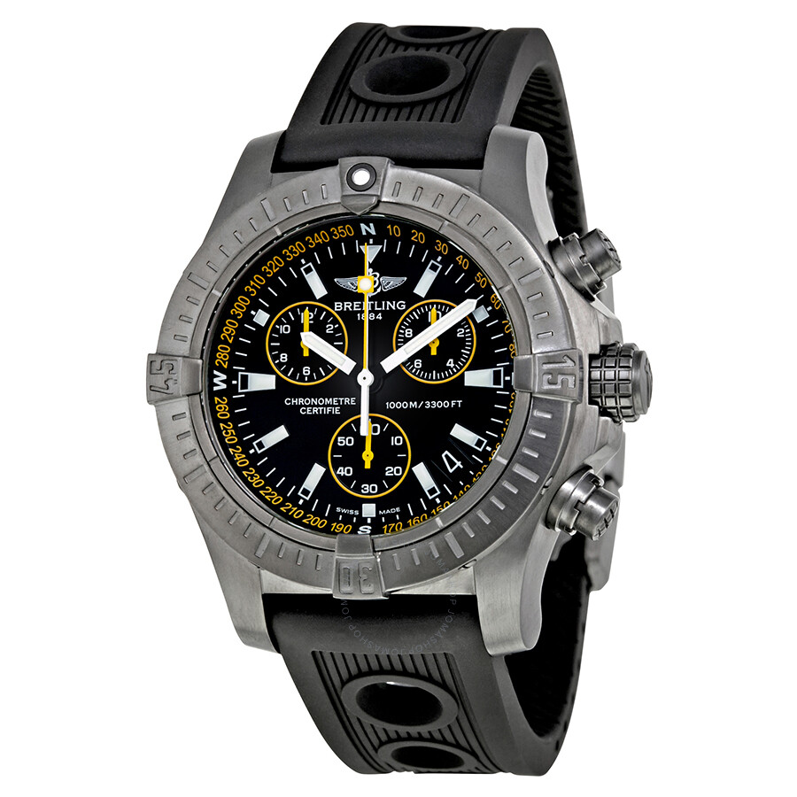 Breitling avenger seawolf chronograph men 39 s limited edition watch m73390t1 ba87 200s m20d2 for Avenger watches