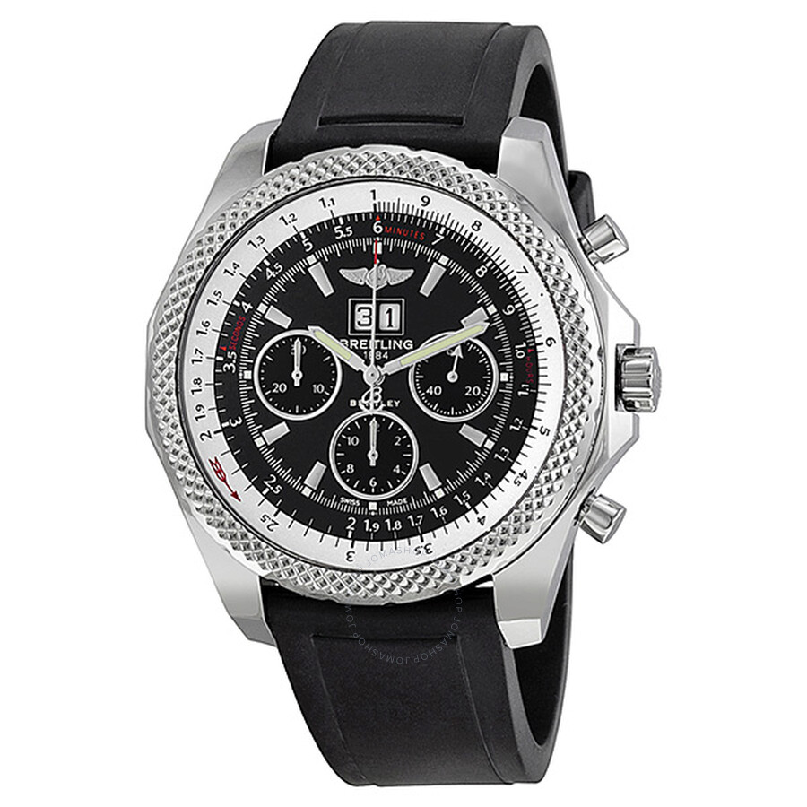 Breitling Bentley 6.75 Speed Chronograph Black & White