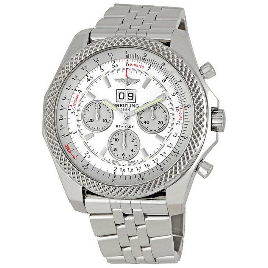 Breitling Stainless Steel Bentley Automatic Wristwatch Ref: Breitling Bentley 6.75 Stainless Steel Men's Watch