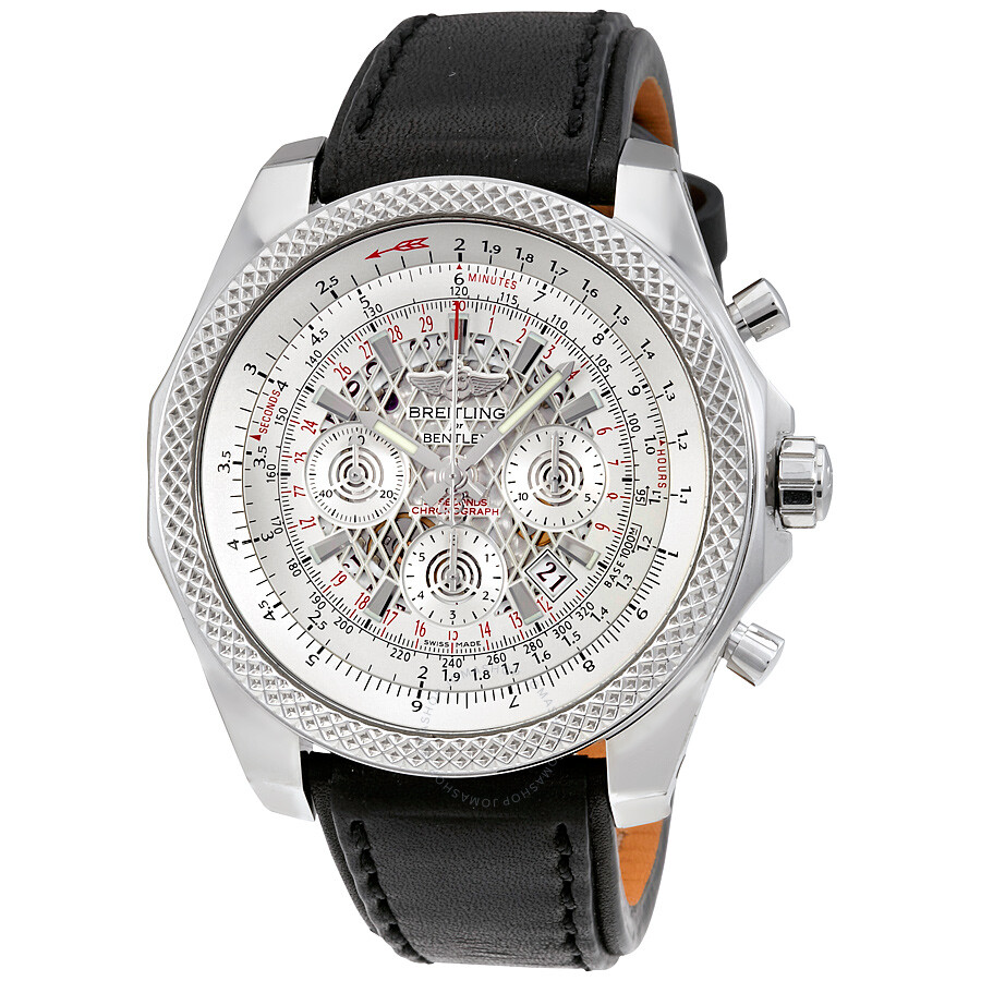 breitling bentley b06 silver automatic s
