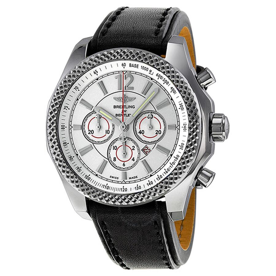 Breitling Bentley Barnato 42 Automatic Chronograph Silver