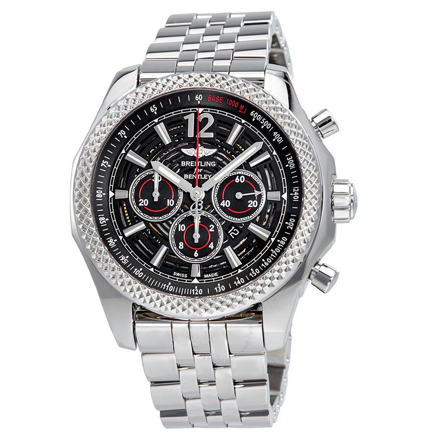 Breitling Bentley Barnato Automatic Black Dial Men's Watch