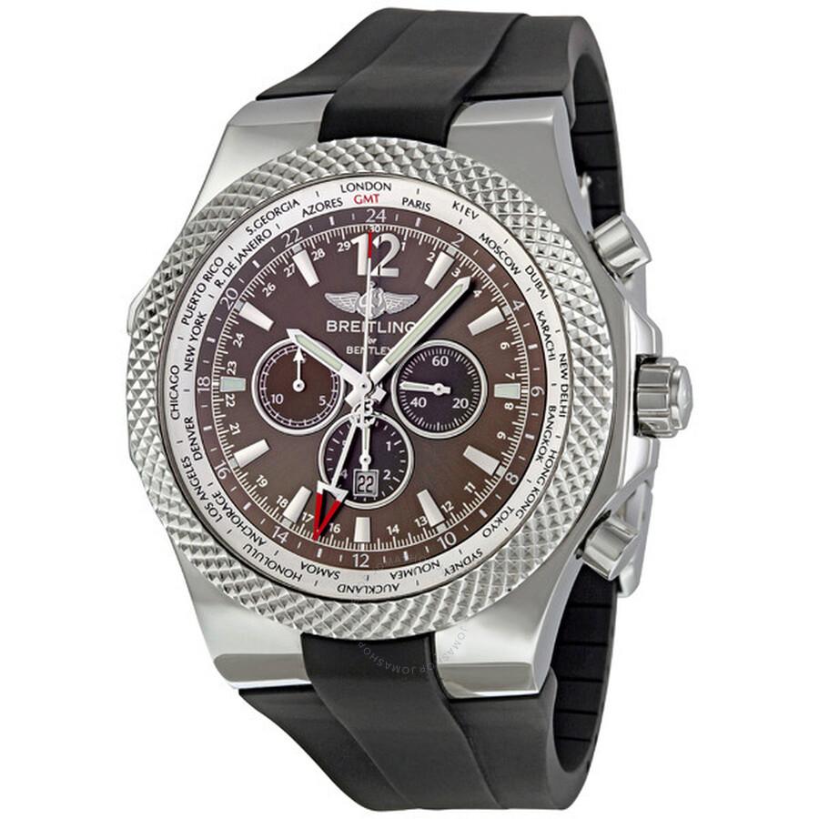 Breitling Bentley GMT Bronze Dial Chronograph Men's Watch