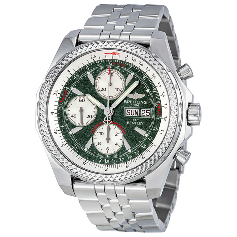 Breitling Bentley Gt Wristwatches: Breitling Bentley GT Automatic Chronograph Men's Watch
