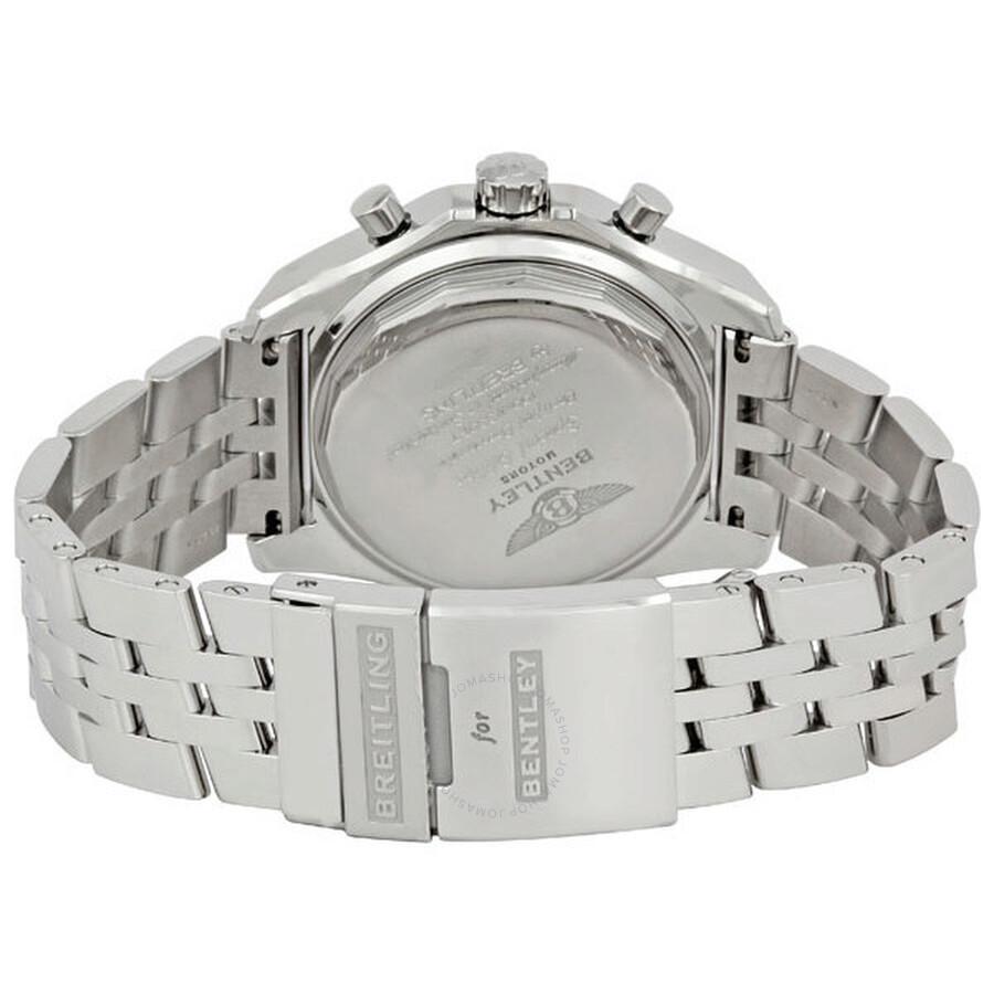 Breitling Bentley GT Grey Dial Chronograph Men's Watch