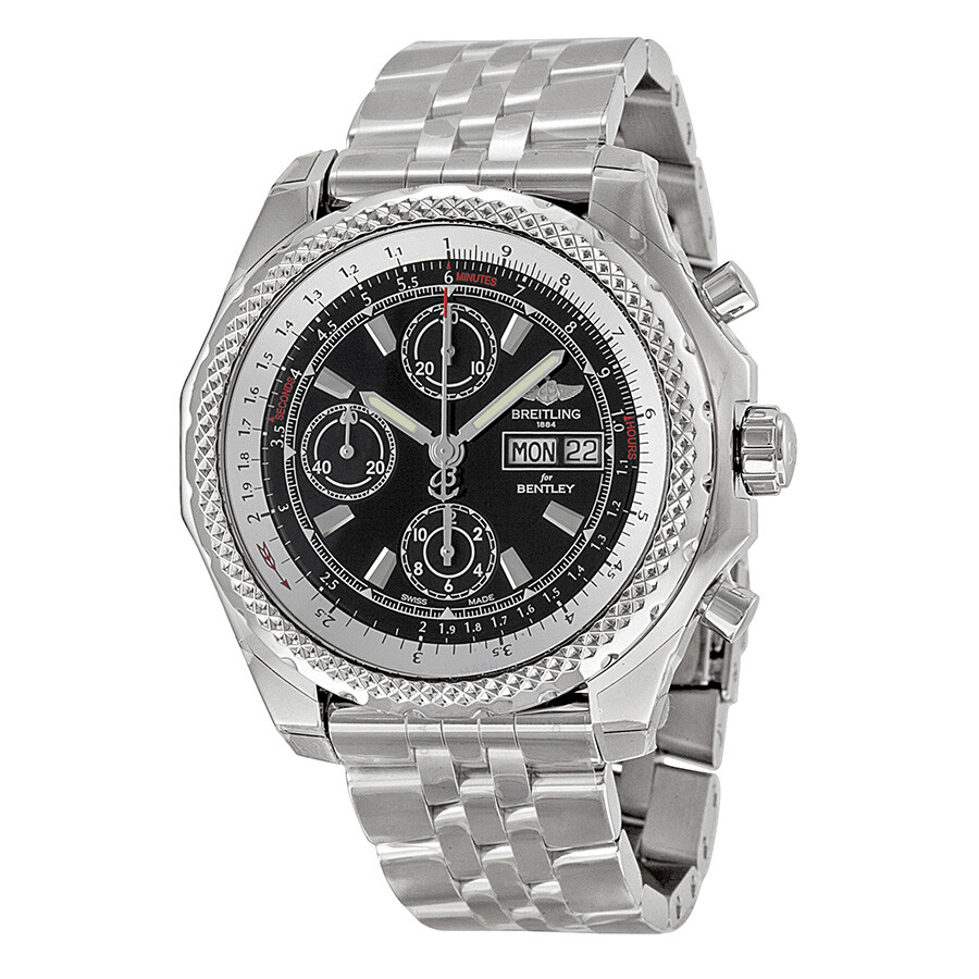 Breitling Bentley Gt Wristwatches: Breitling Bentley GT II Automatic Chronograph Men's Watch