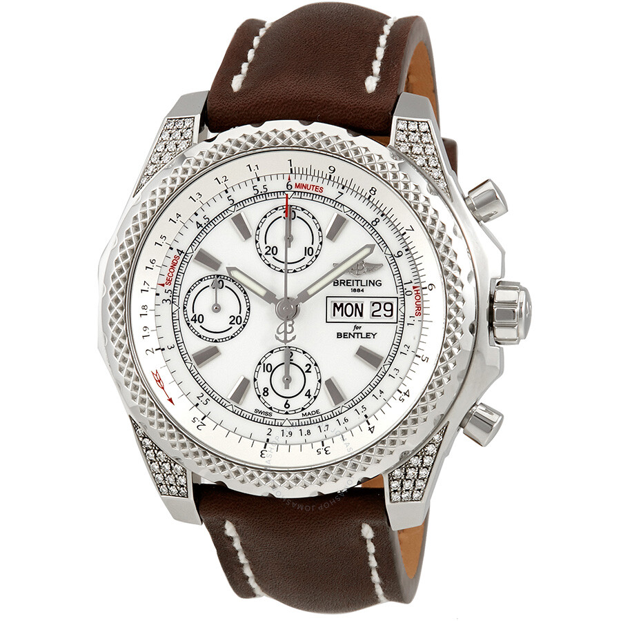 Breitling Bentley GT II White Dial Automatic Chronograph