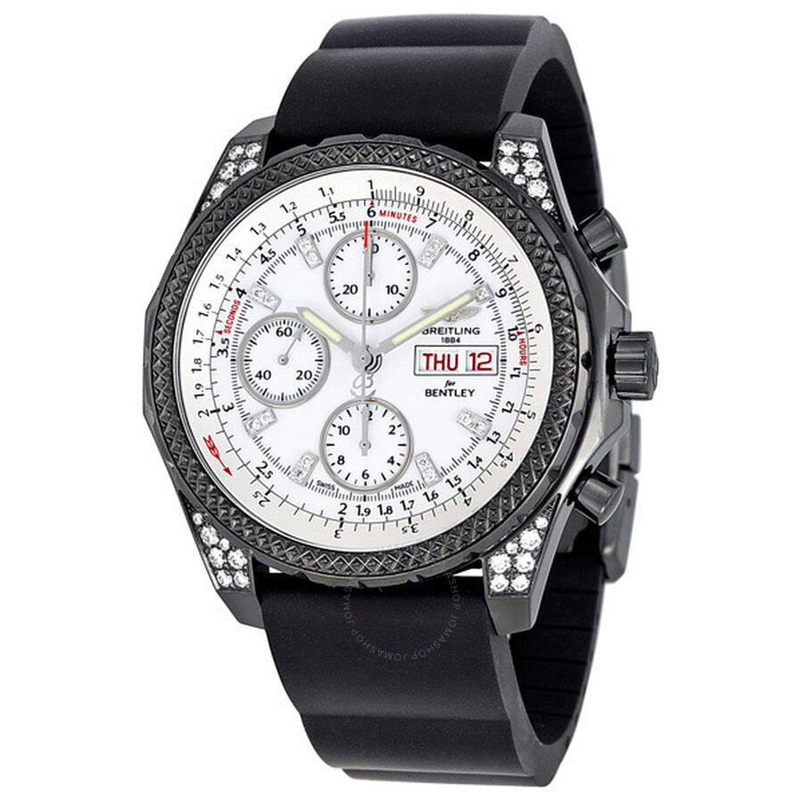 Breitling Bentley Gt Wristwatches: Breitling Bentley GT Midnight Diamond Watch M1336267