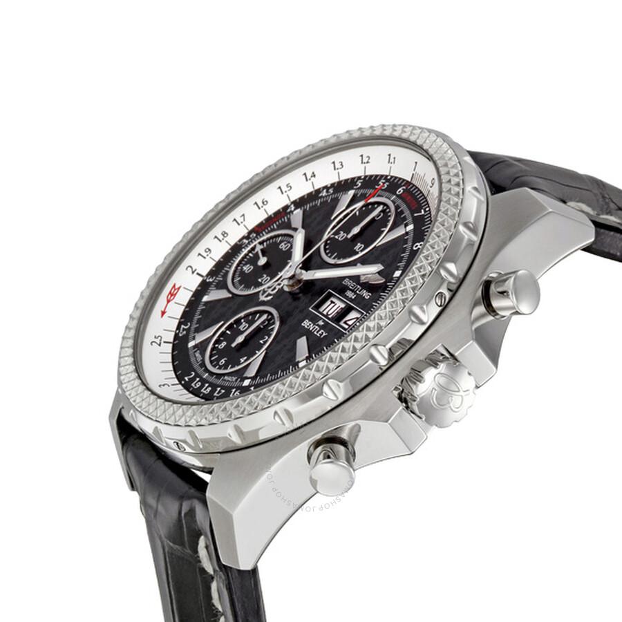 Breitling Bentley GT Racing Black Dial Chronograph Men's