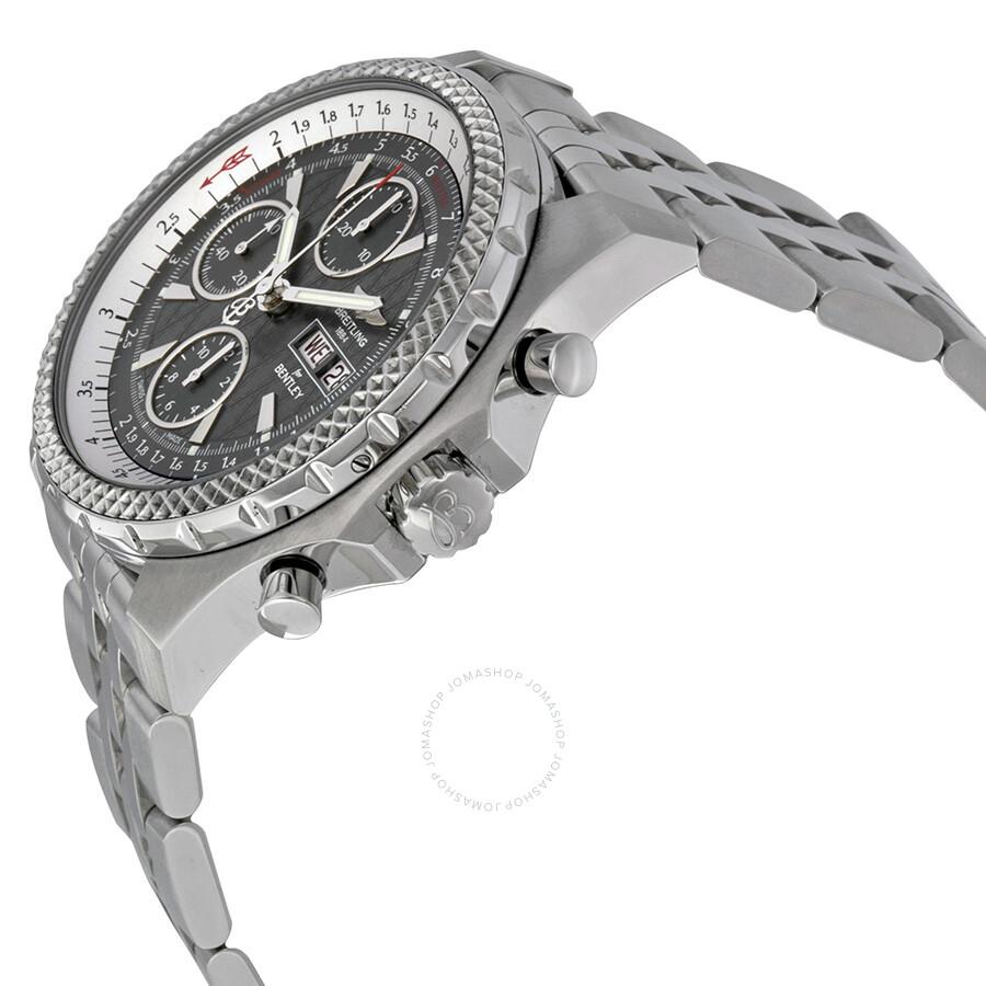 Breitling Bentley Gt Racing Grey Dial Chronograph Men S