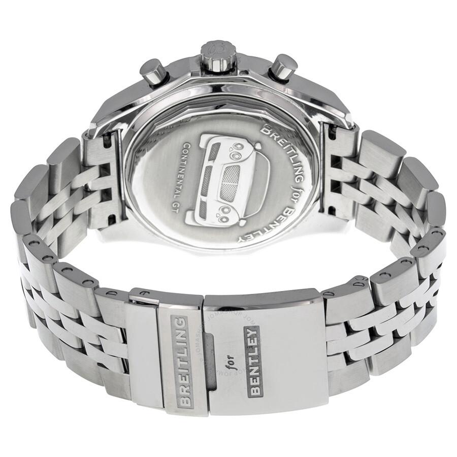 Breitling Bentley GT Racing Grey Dial Chronograph Men's