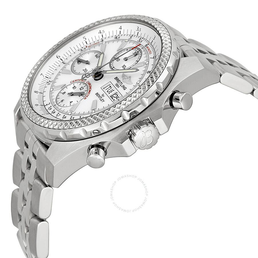 Breitling Bentley GT Racing White Dial Men's Watch