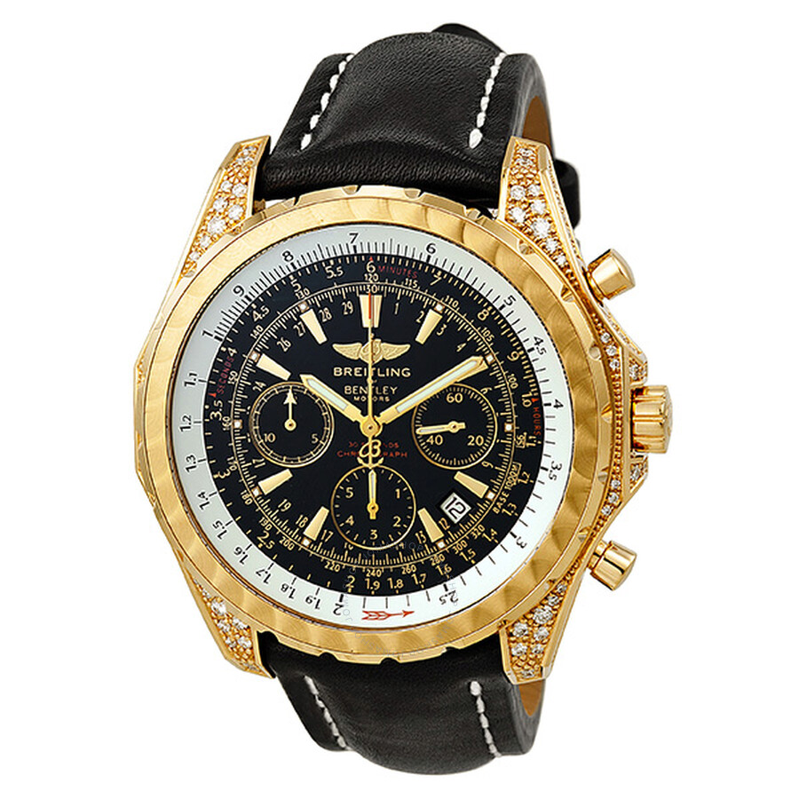 Breitling Bentley Motors T Chronograph Rose Gold Men's