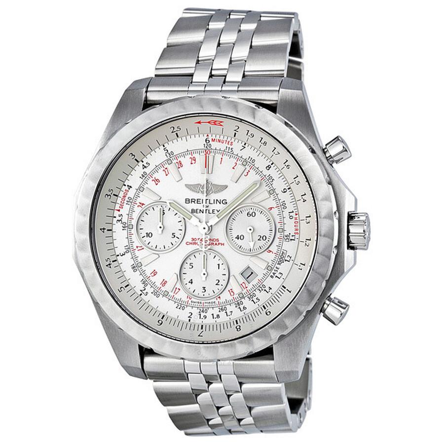 Breitling For Bentley >> Breitling Bentley Motors T Speed Chrono Steel Men S Watch A2536513