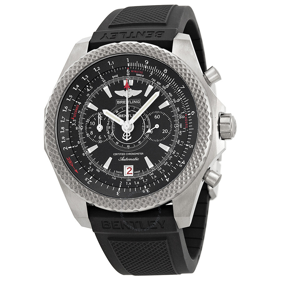 Breitling Bentley Supersports Ebony Dial Automatic Men S