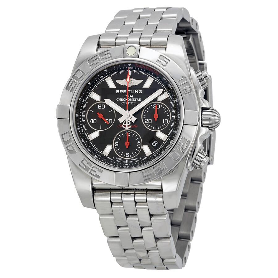 Breitling chronomat 41 automatic men 39 s watch ab014112 bb47ss chronomat 41 chronomat for Breitling automatic