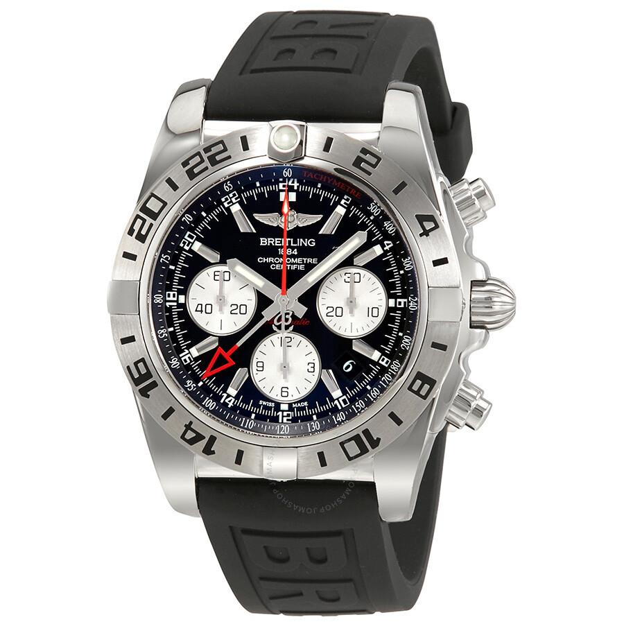Breitling chronomat 44 chronograph automatic men 39 s watch ab0420b9 bb56bkpt3 chronomat 44 for Watches breitling