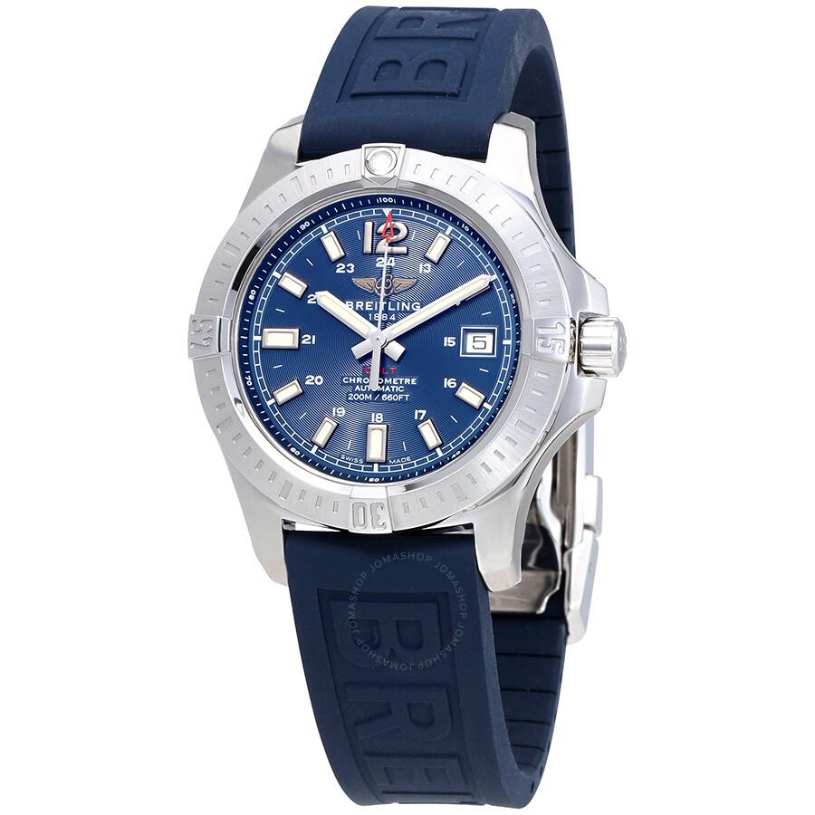 Breitling colt automatic blue dial men 39 s watch a1731311 c934blpd3 colt breitling watches for Breitling automatic