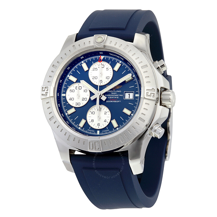 breitling colt chronograph automatic blue dial blue rubber men 39 s watch a1338811 c914blpt colt. Black Bedroom Furniture Sets. Home Design Ideas