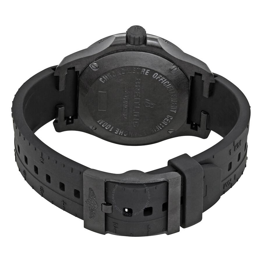 Breitling Colt Skyracer Chronometer Black Dial Men S Watch X74320e4 Bf87bkrt