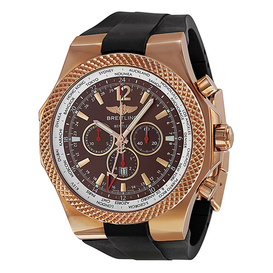 Breitling For Bentley GMT Automatic Chronograph Rose Gold