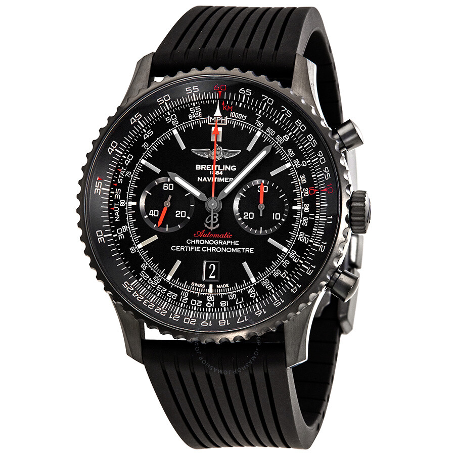 breitling navitimer 01 black dial chronograph men 39 s watch mb012822 be51bkrd navitimer. Black Bedroom Furniture Sets. Home Design Ideas