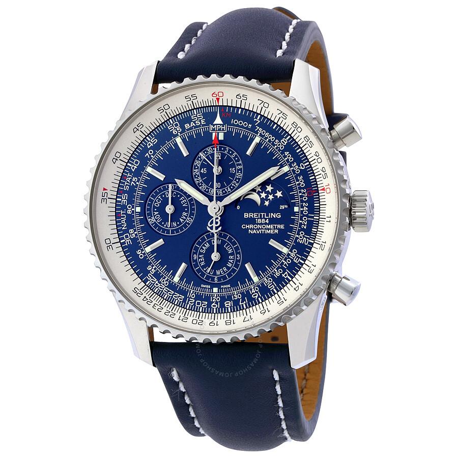 Breitling navitimer 1461 automatic chronograph men 39 s watch a1937012 c883 101x navitimer for Breitling automatic