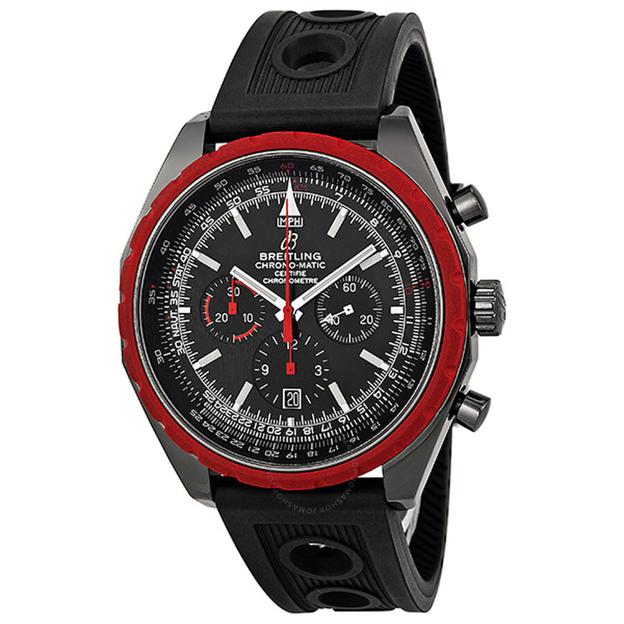 Breitling Navitimer Chronomatic 49 Black Dial Men s Watch M1436003-BA67  Item No. M1436003 BA67 d580fe6baed