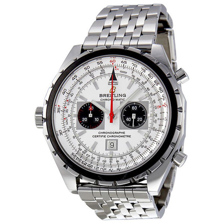 Breitling Navitimer Chronomatic Steel Chronograph Men S Watch A4136012 G589ss