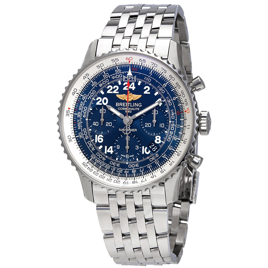 Breitling navitimer cosmonaute chronograph men 39 s watch ab0210b4 c917 447a navitimer for Watches breitling