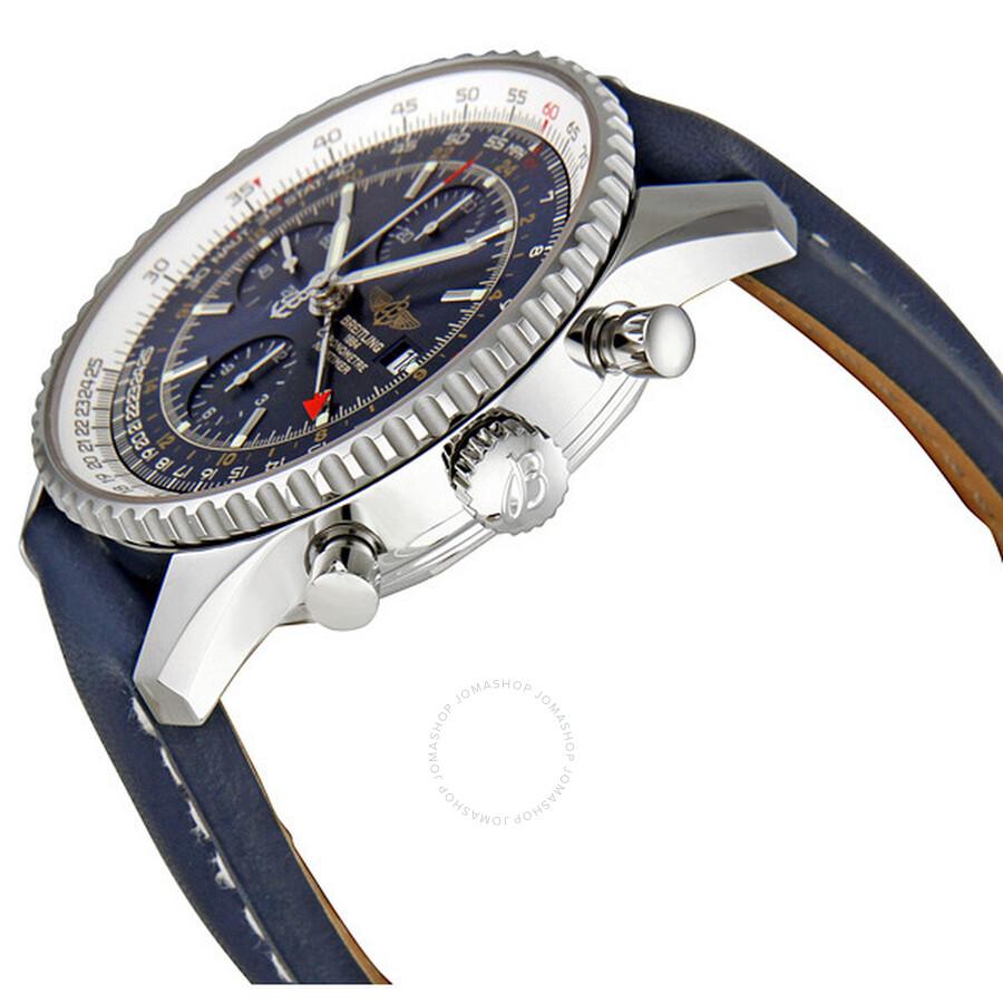 301e8de55 ... Breitling Navitimer World Chronograph Men s Watch A2432212-C651BLLT ...
